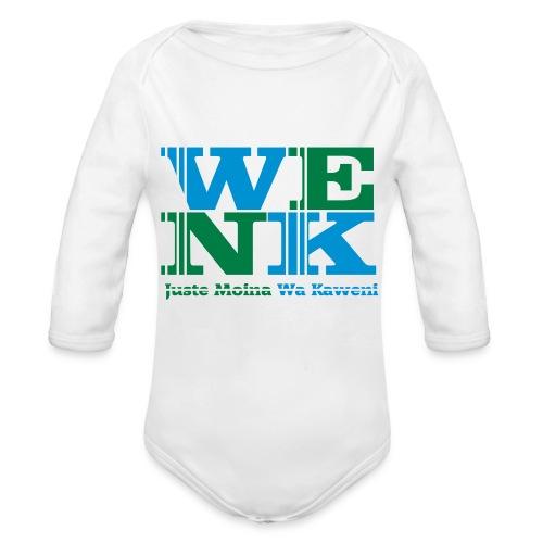 WENK - Body Bébé bio manches longues