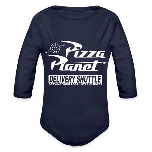 Pizza PLANET - Organic Longsleeve Baby Bodysuit
