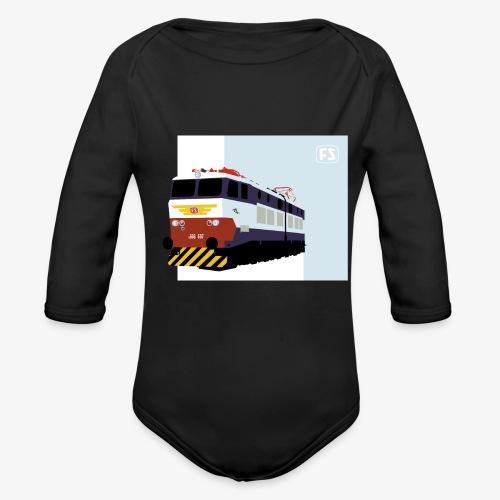 FS E 656 Caimano - Body ecologico per neonato a manica lunga