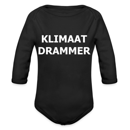Klimaat Drammer - Organic Longsleeve Baby Bodysuit