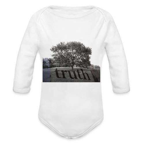 Truth - Organic Longsleeve Baby Bodysuit