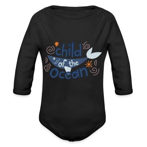 ChildOfTheOcean - Body Bébé bio manches longues