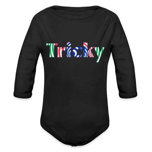 Tricky - Organic Longsleeve Baby Bodysuit