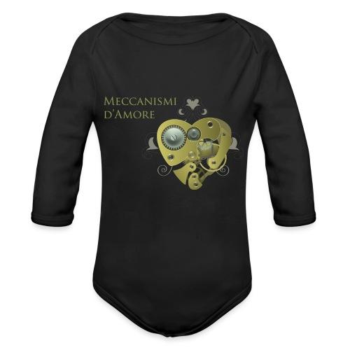 meccanismi_damore - Body ecologico per neonato a manica lunga