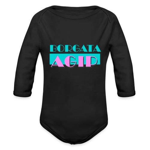 BORGATA AGIP - Body ecologico per neonato a manica lunga