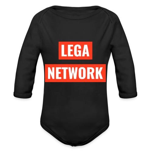Logo Lega Network - Body ecologico per neonato a manica lunga