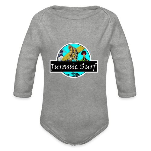 JURASSIC SURF - Body ecologico per neonato a manica lunga