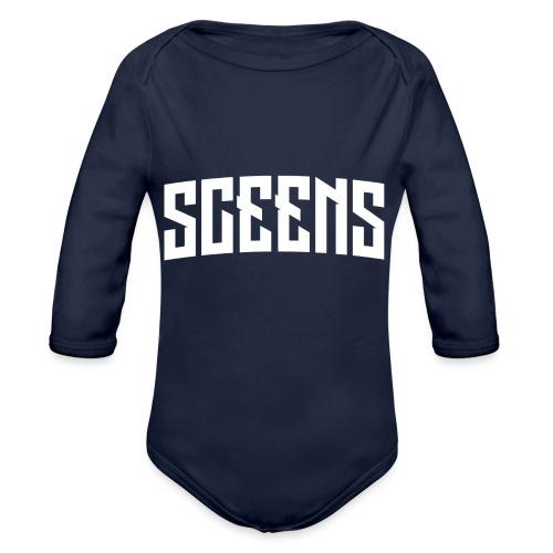 Sceens T-Shirt Vrouwen - Baby bio-rompertje met lange mouwen