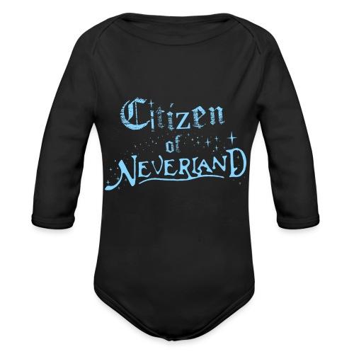 Citizen_blue 02 - Organic Longsleeve Baby Bodysuit