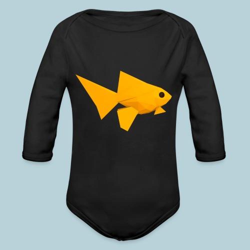 RATWORKS Fish-Smish - Organic Longsleeve Baby Bodysuit