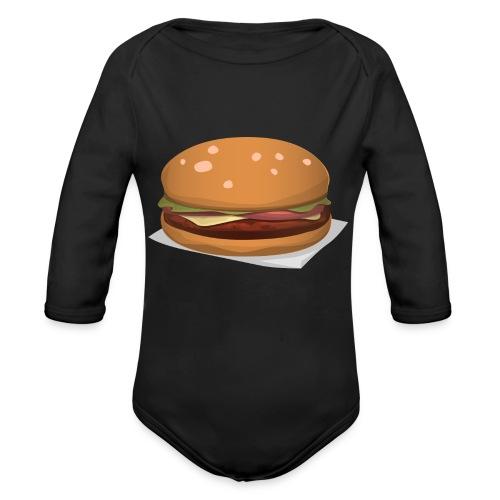 hamburger-576419 - Body ecologico per neonato a manica lunga