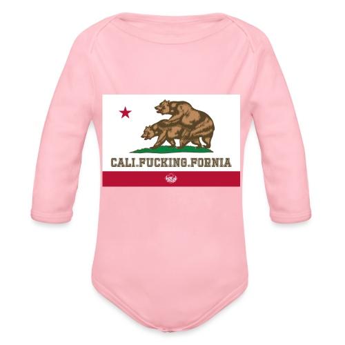 California, Californiano, Fuck, Orso - Body ecologico per neonato a manica lunga