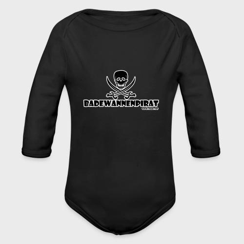 Badewannenpirat - Baby Bio-Langarm-Body