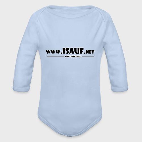 iSauf Logo 3 - Baby Bio-Langarm-Body