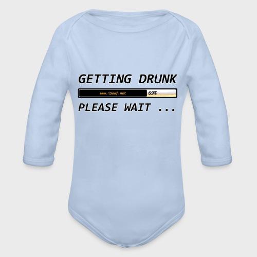 Getting Drunk - Baby Bio-Langarm-Body