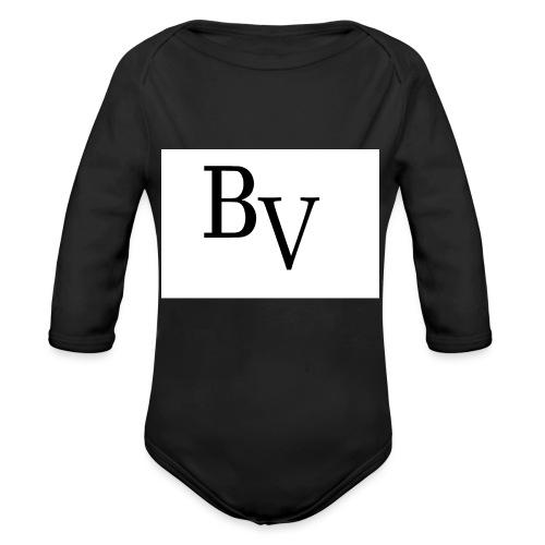 BossVibes - Langærmet babybody, økologisk bomuld