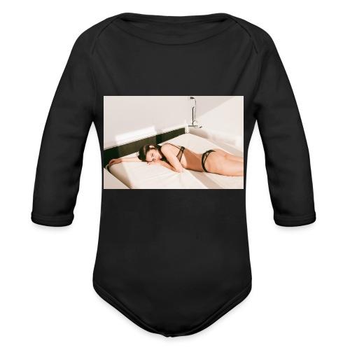 Diamela #1 - Body ecologico per neonato a manica lunga