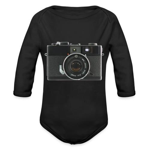 Vintage Camera Auto S3 - Body ecologico per neonato a manica lunga