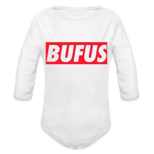 BUFUS - Body ecologico per neonato a manica lunga