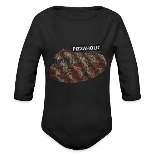 Pizzaholic - Økologisk langermet baby-body