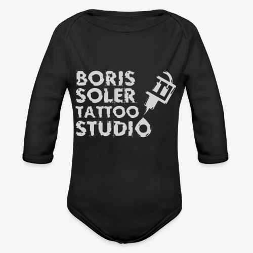 Boris Soler Tattoo - Organic Longsleeve Baby Bodysuit