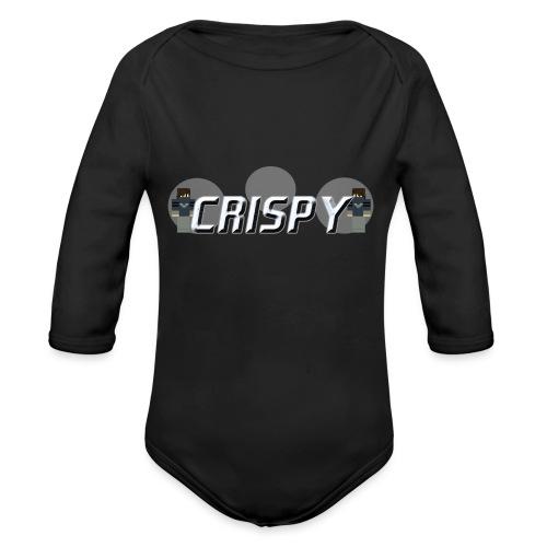 CRISPY - Body ecologico per neonato a manica lunga