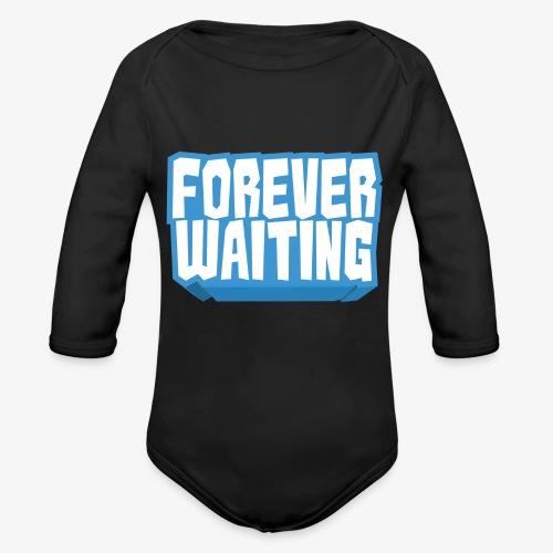 Forever Waiting - Organic Longsleeve Baby Bodysuit