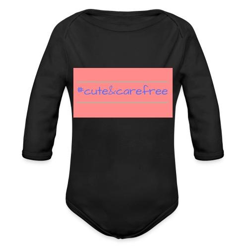 Cute & Carefree - Organic Longsleeve Baby Bodysuit