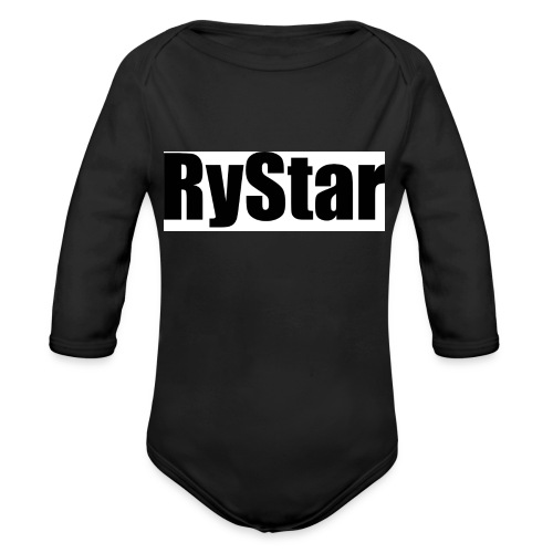 Ry Star clothing line - Organic Longsleeve Baby Bodysuit