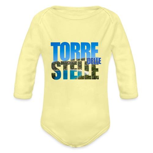 TorreTshirt - Body ecologico per neonato a manica lunga