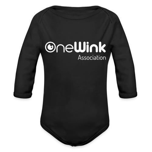 OneWink Association - Body Bébé bio manches longues