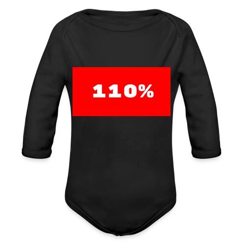 110% Rulez - Body ecologico per neonato a manica lunga