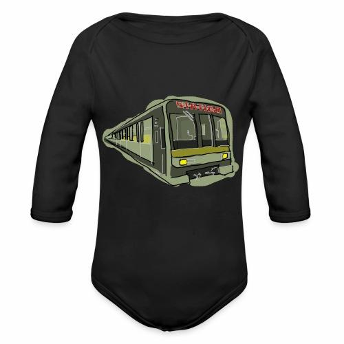 Urban convoy - Body ecologico per neonato a manica lunga