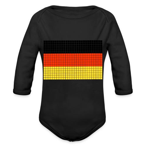 german flag.png - Body ecologico per neonato a manica lunga