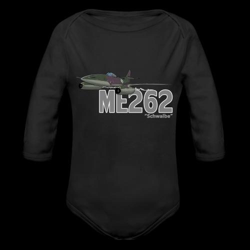 Me 262 Schwalbe (writing) - Body ecologico per neonato a manica lunga