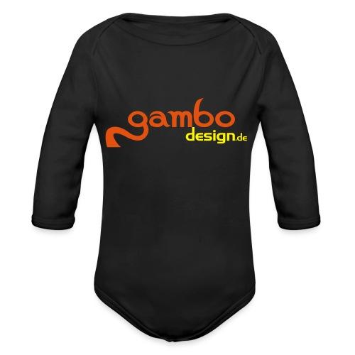 gambo design - Baby Bio-Langarm-Body