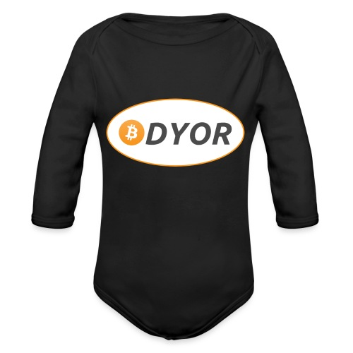 DYOR - option 2 - Organic Longsleeve Baby Bodysuit