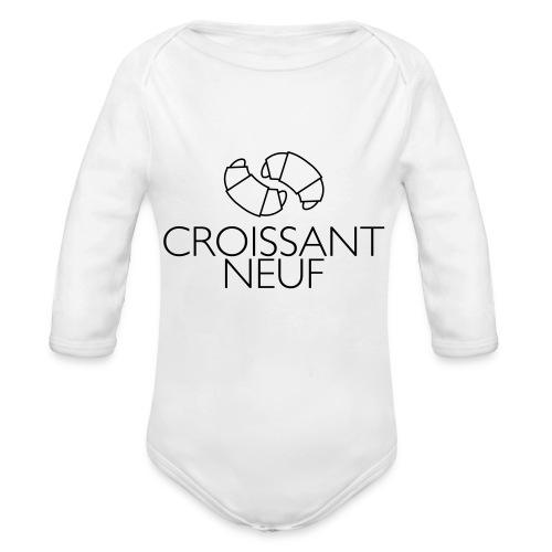 Croissaint Neuf - Baby bio-rompertje met lange mouwen