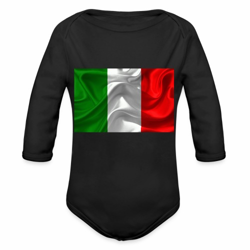 Italien - Baby Bio-Langarm-Body