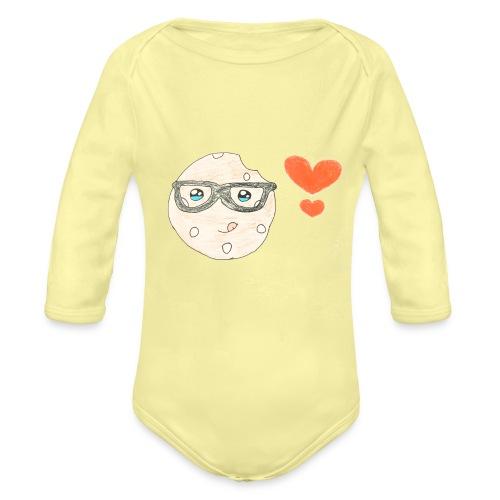 Kids for Kids: Keks mit Herz - Baby Bio-Langarm-Body
