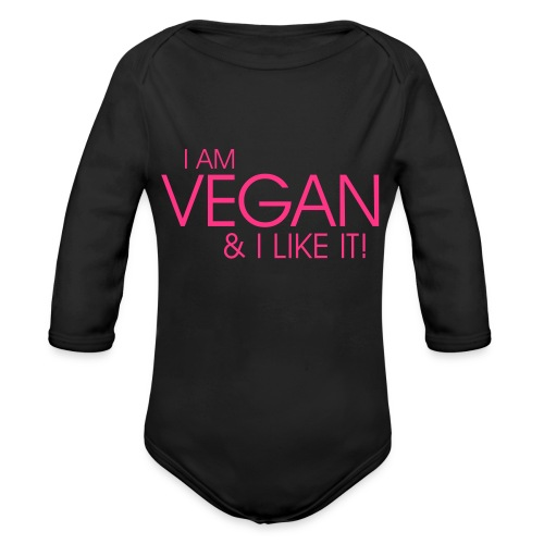 I am vegan and I like it - Baby Bio-Langarm-Body