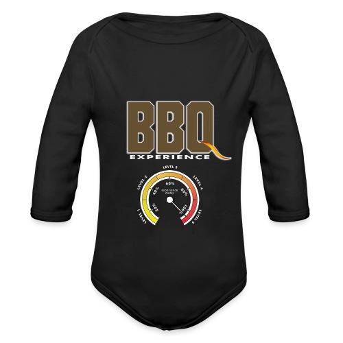 BBQ experiencemeter - Body orgánico de manga larga para bebé