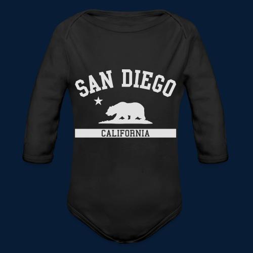 San Diego - Baby Bio-Langarm-Body