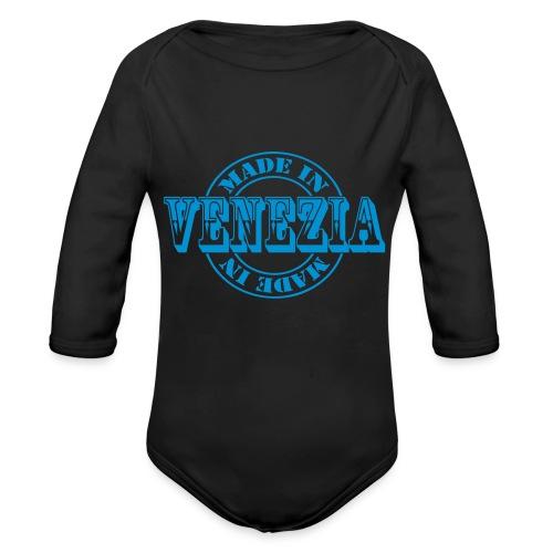 made in venezia m1k2 - Body ecologico per neonato a manica lunga