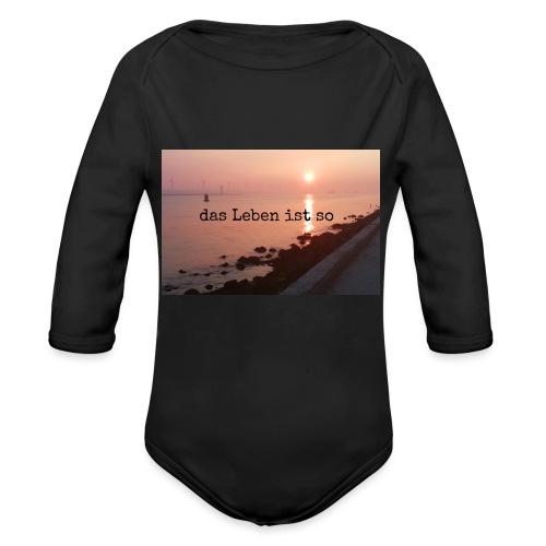 Sunset dLis - Baby Bio-Langarm-Body