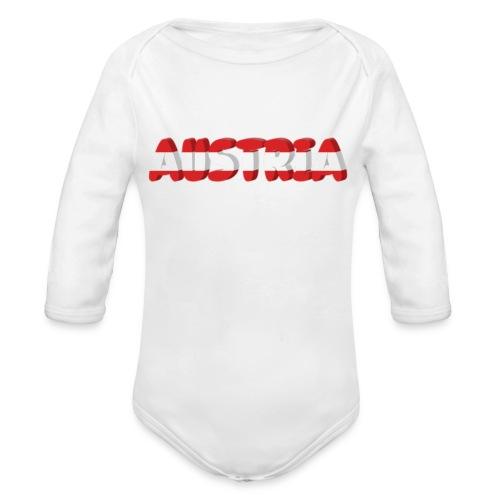 Austria Textilien und Accessoires - Baby Bio-Langarm-Body