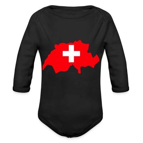 Switzerland - Baby bio-rompertje met lange mouwen