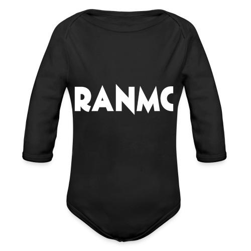 RANMC WIT png - Baby bio-rompertje met lange mouwen