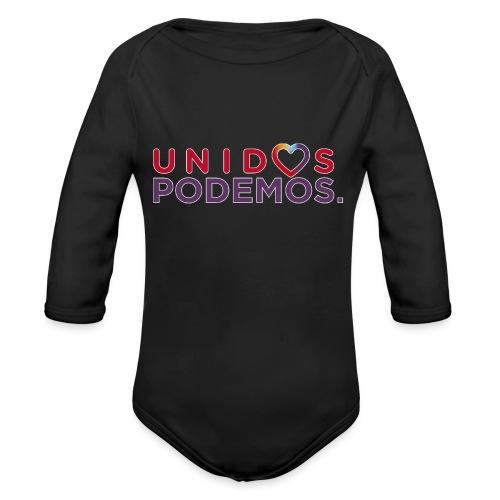 Taza Unidos Podemos 2016 Blanca - Body orgánico de manga larga para bebé