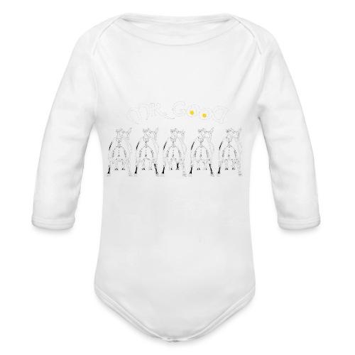GOAT - Body ecologico per neonato a manica lunga